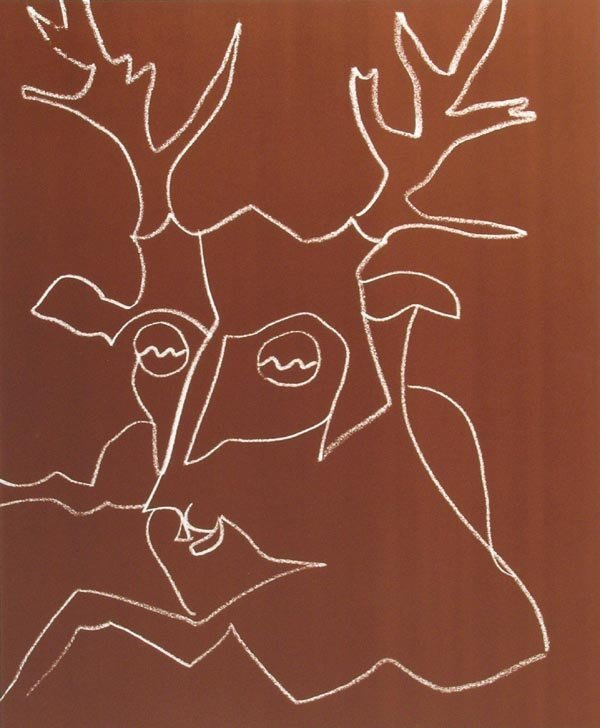 1015: Charles Lapicque, Signed Lithograph