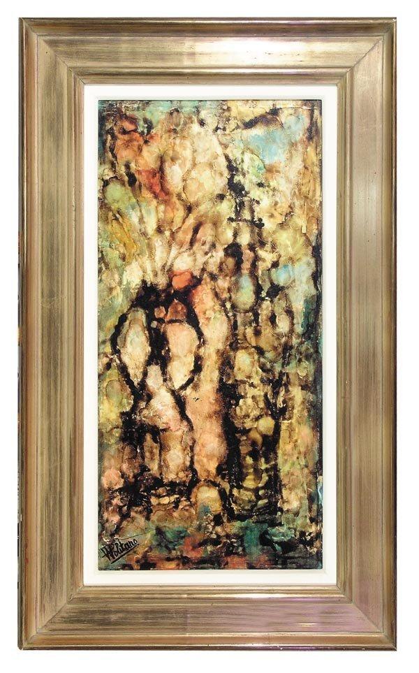 1022: Vladmir Politamo, Oil on Canvas