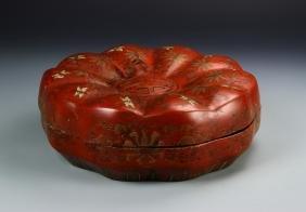 Chinese Red Wedding Box