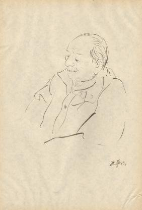 Twelve Chinese Art Sketches