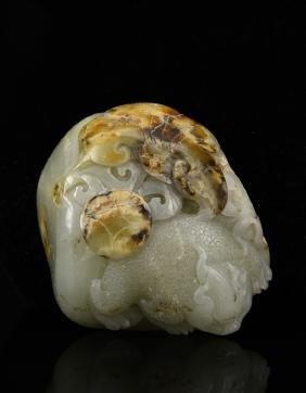 Chinese Jade Pebble