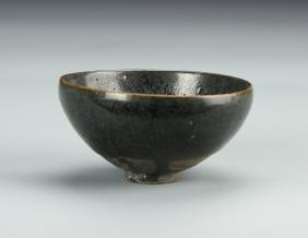 Chinese Antique Black Glazed Bowl