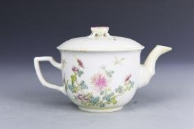 China ROC Famille Rose Teapot