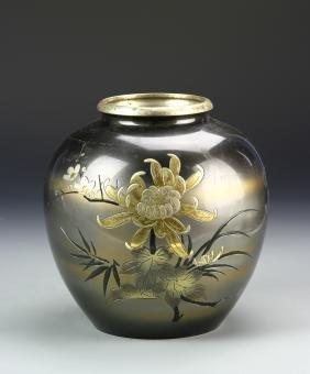 Japanese Metal Vase