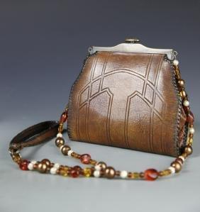 Vintage Lady's Leather Pursh