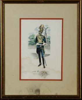 Vintage Framed Print of Prince of Wales