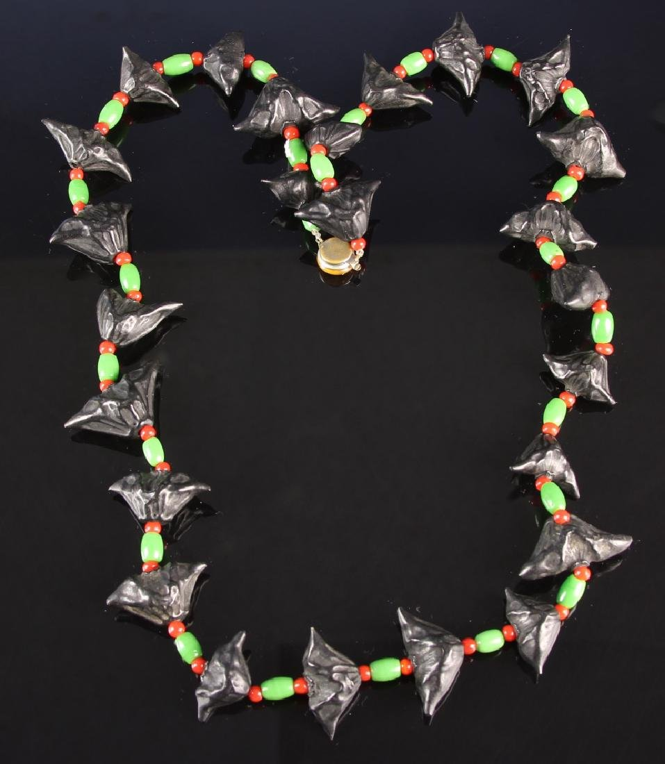 Chinese Bat Nuts Necklace