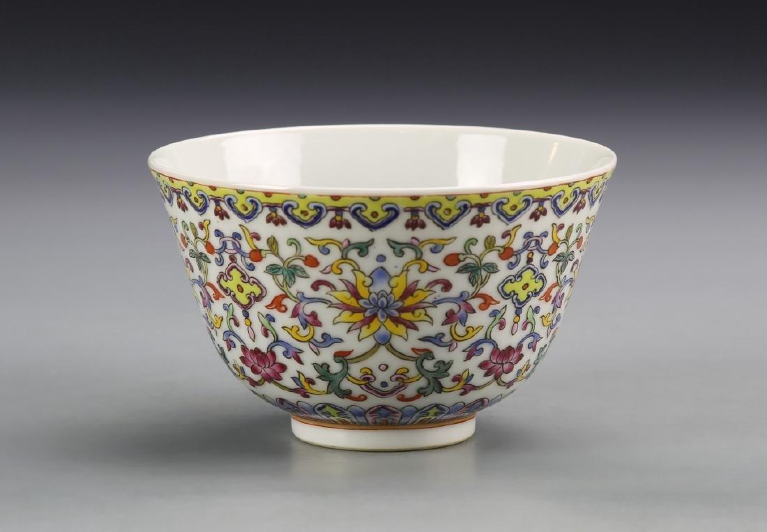Chinese Enameled Bowl