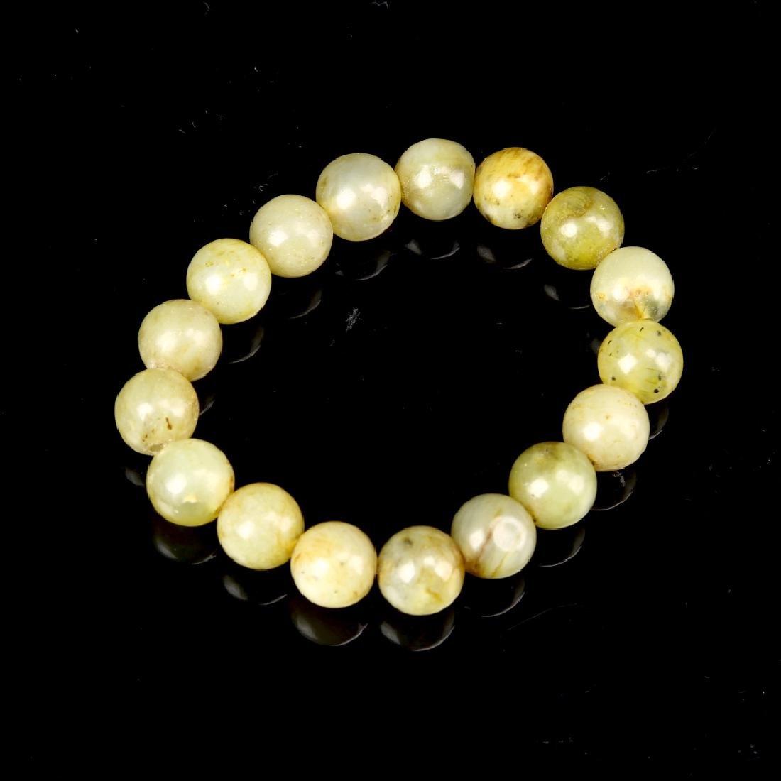 Chinese Antique Jade Bracelet