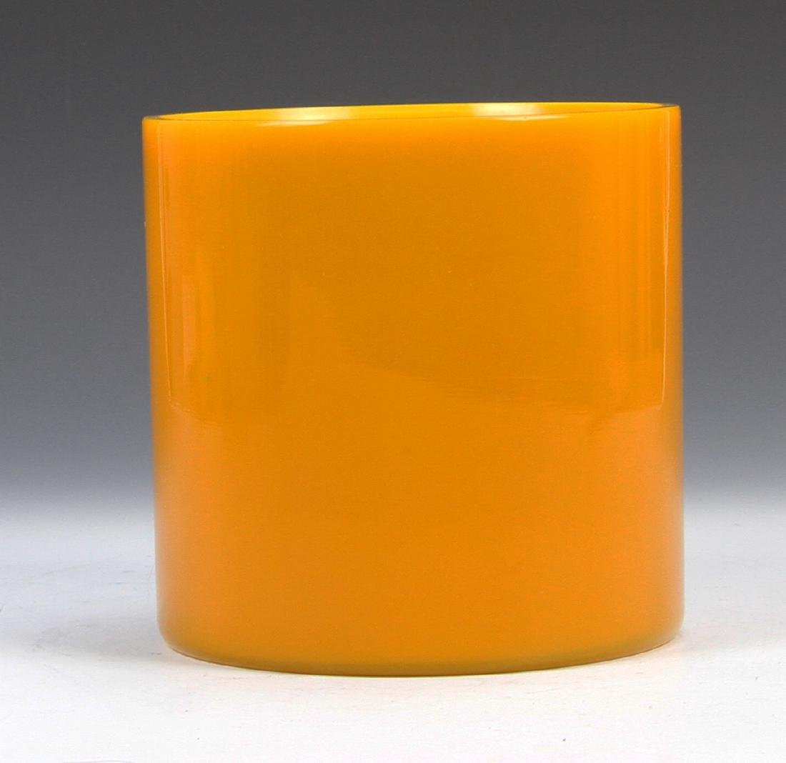 Chinese Peking Glass Brush Pot - 3