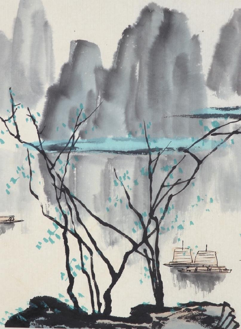 Chinese Painting of A Landscape - 2
