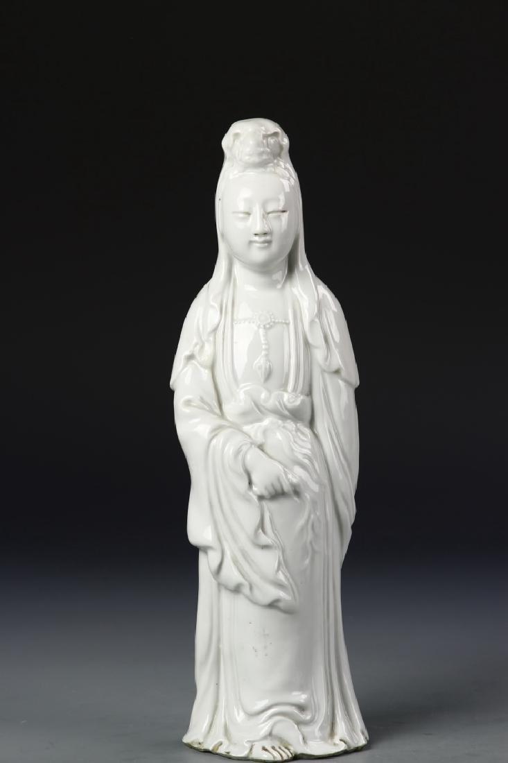 Chinese Blanc De Chine Guanyin - 2