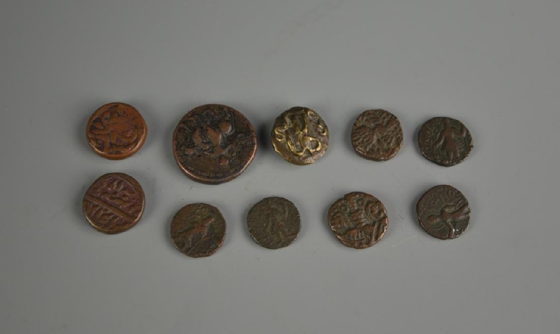Nine Turkish Coins