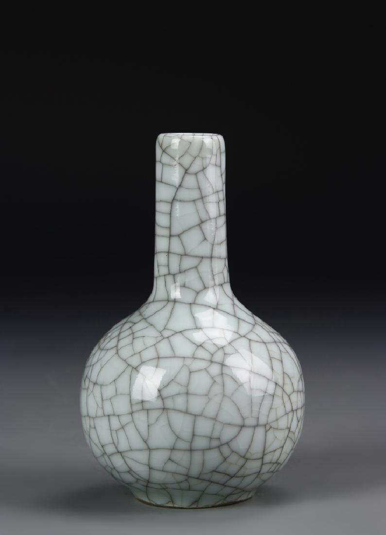 Chinese Guan Yao Tian Qiu Vase