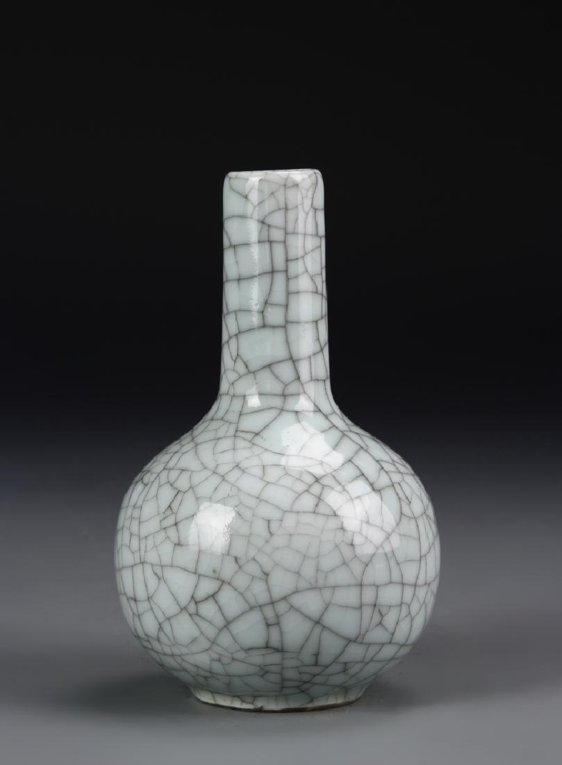 Chinese Guan Yao Tian Qiu Vase - 2
