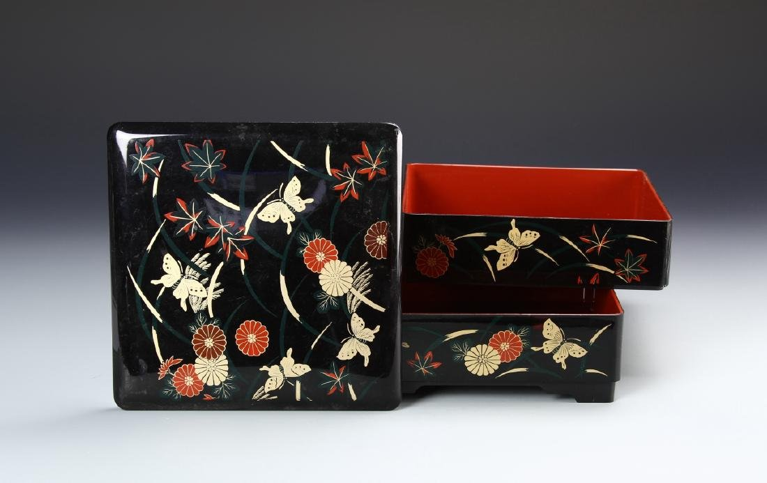 Japanese Lacquer Box - 3