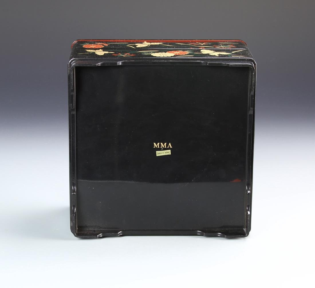 Japanese Lacquer Box - 4