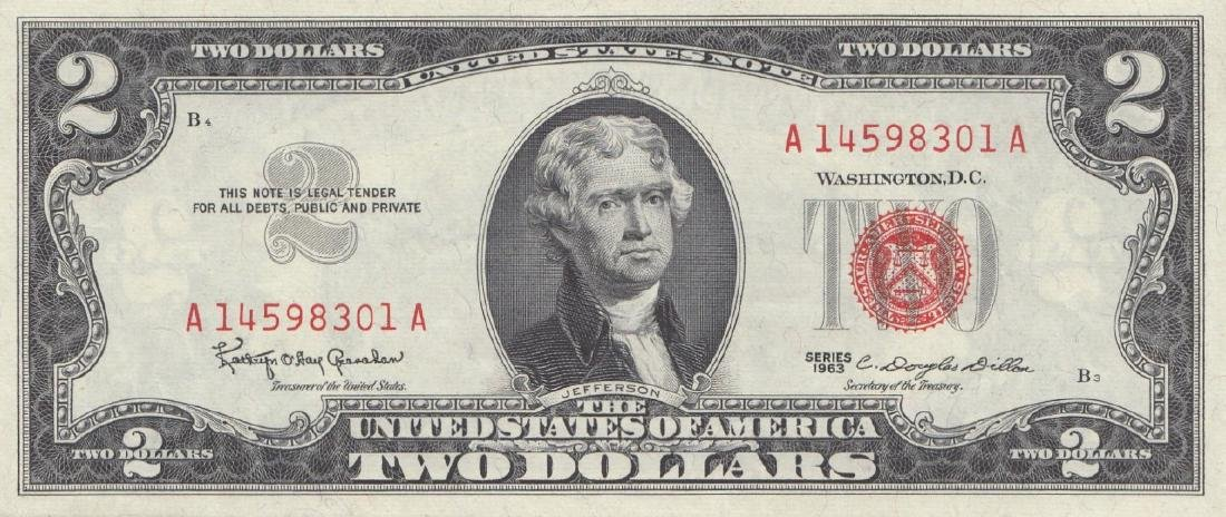16 US Bank Notes