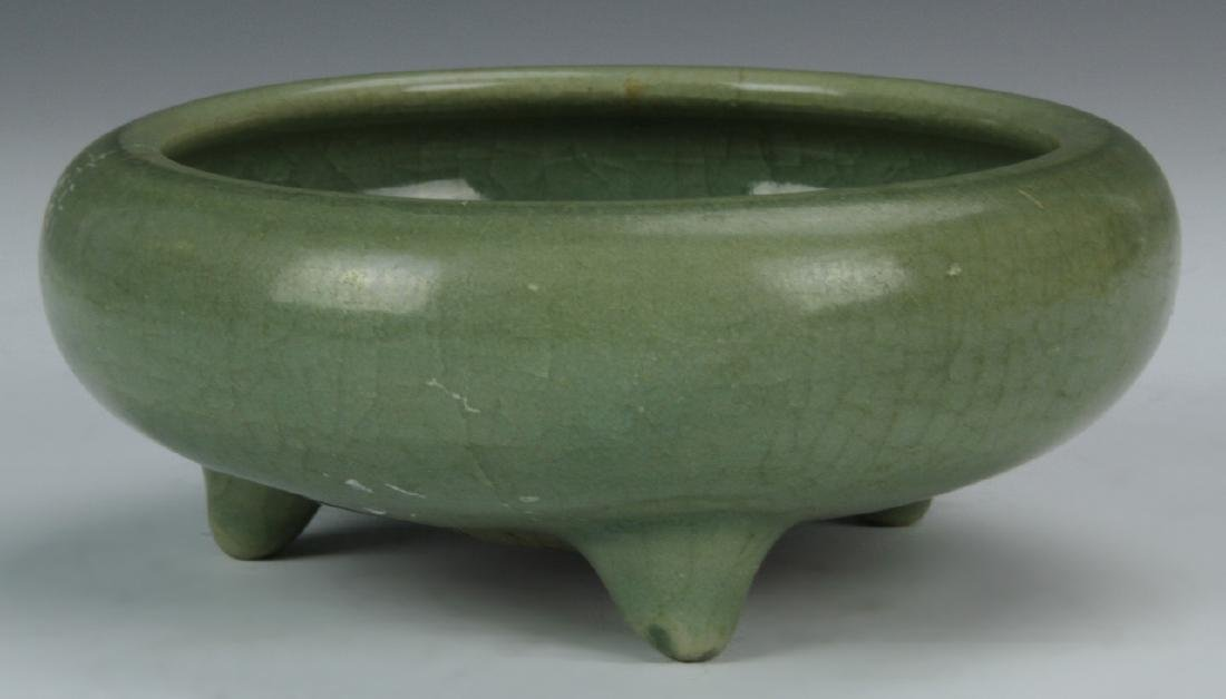 Chinese Lungquan Ware Tripod Censer