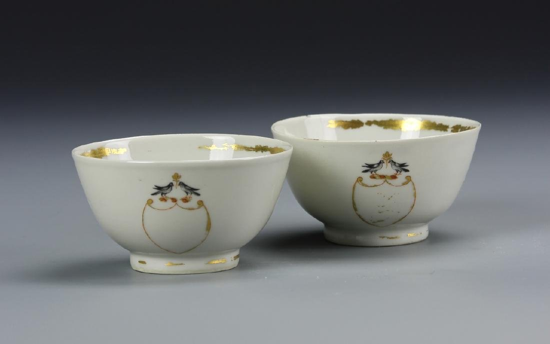 Pair of Export Famille Rose Bowls