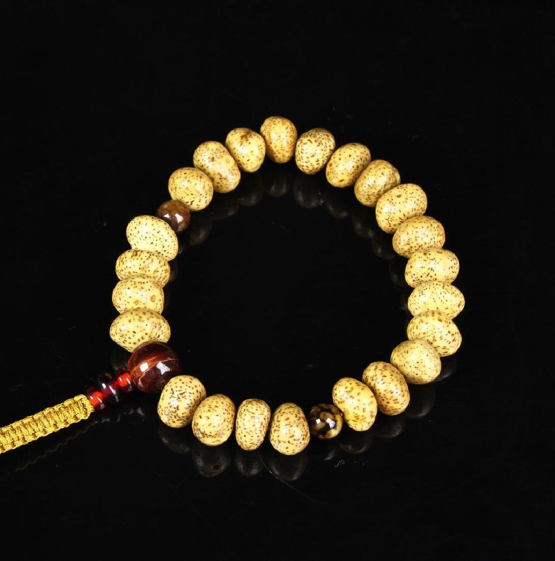 Chinese Tibetan Puti Seed Prayer Beads