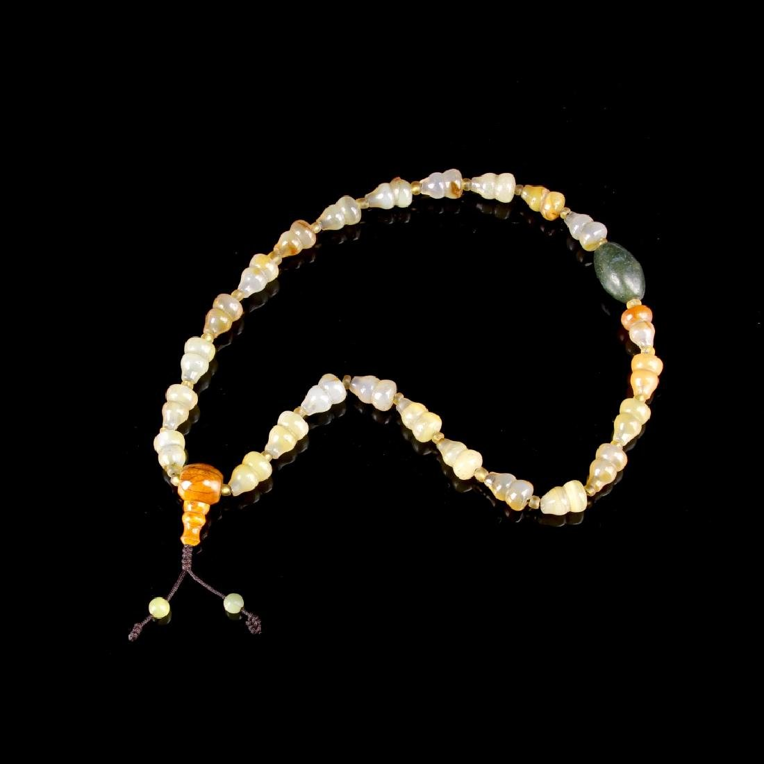 Chinese Agate Prayer Beads