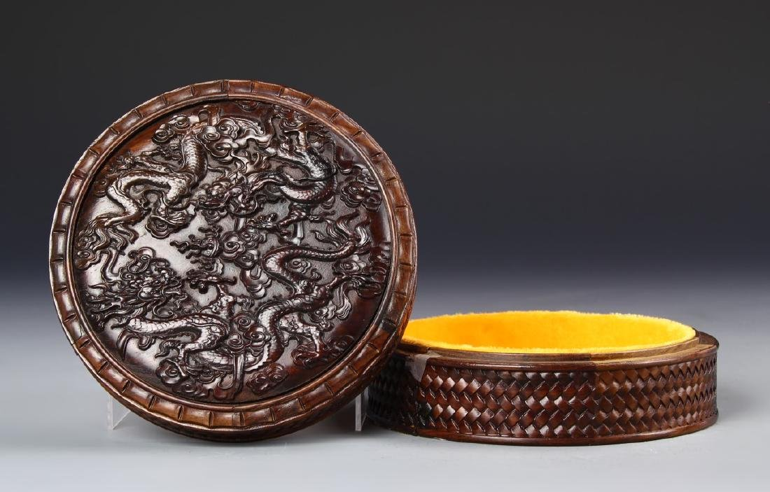 Chinese Wood Jewelry Box