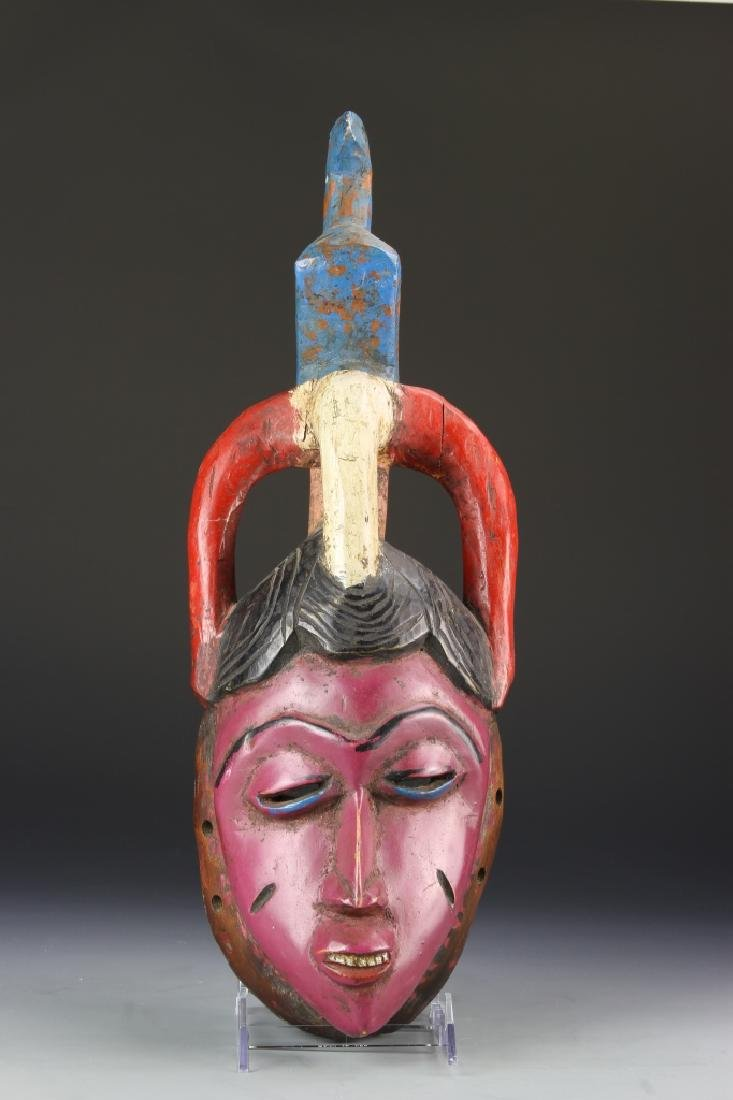 African Carved and Painted Mask