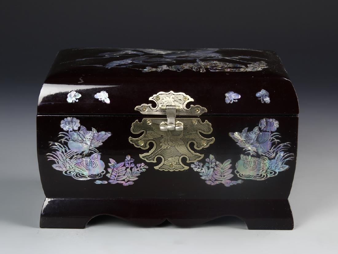 Korean Lacquer Jewelry Box