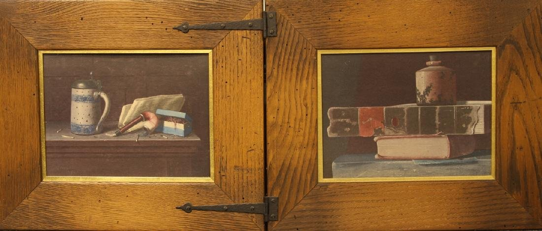 Two Framed Print Artworks