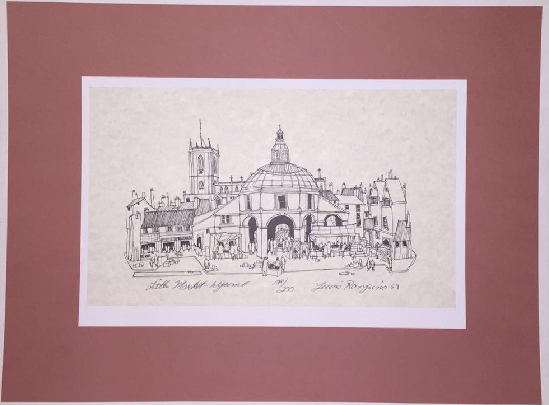 Hand-signed Lithograph L. Rampino