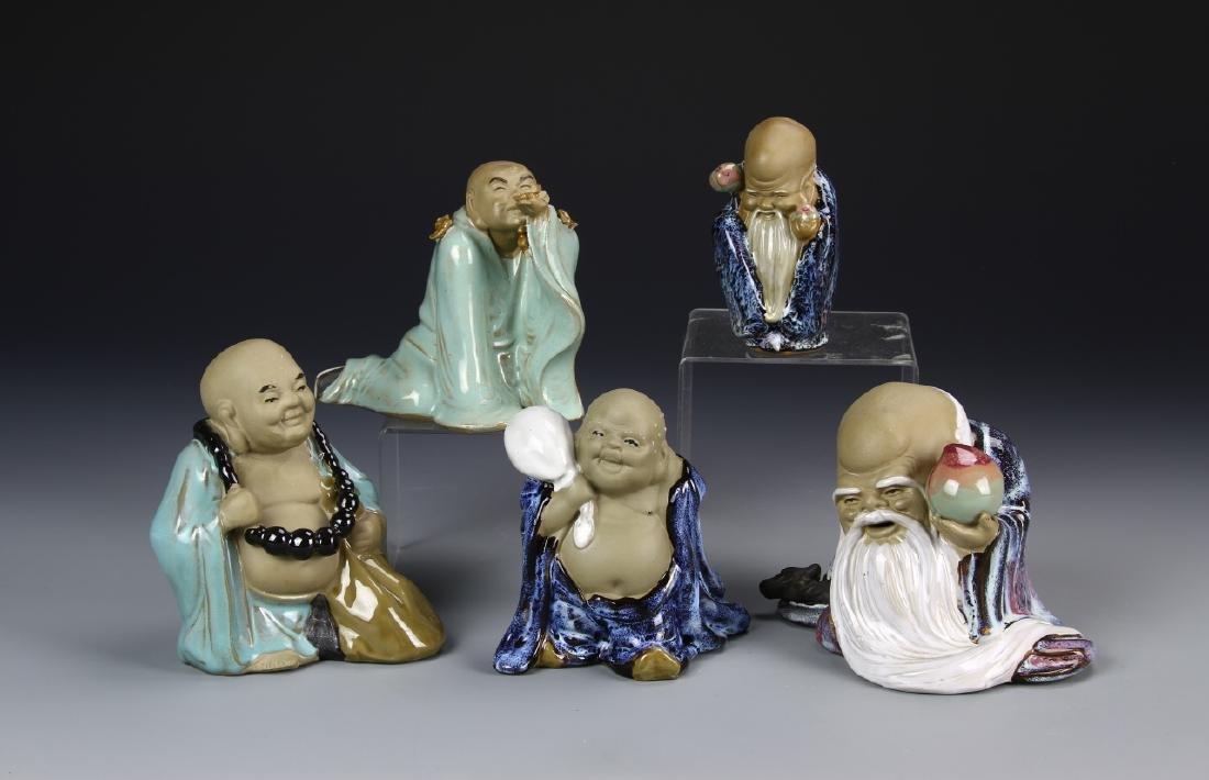 Chinese Five Porcelain Figures