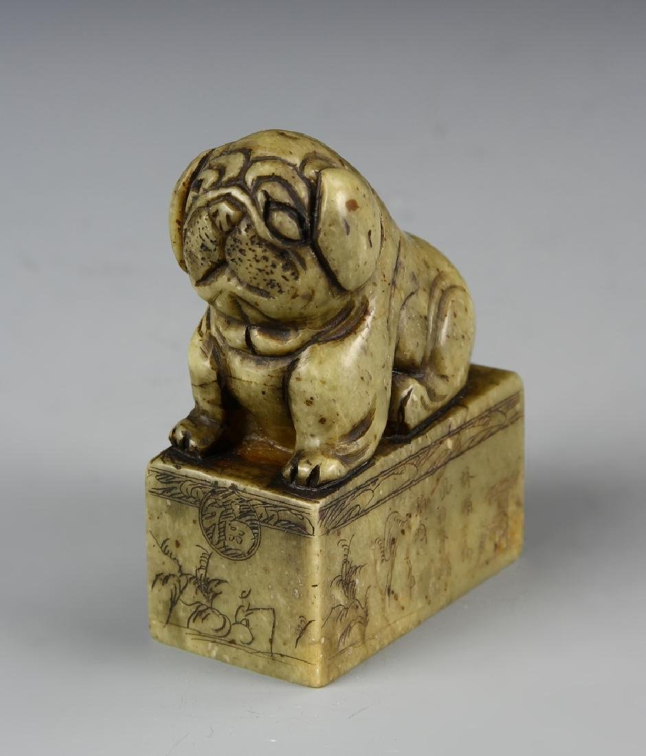 Chinese Soup Stone Seal Chop