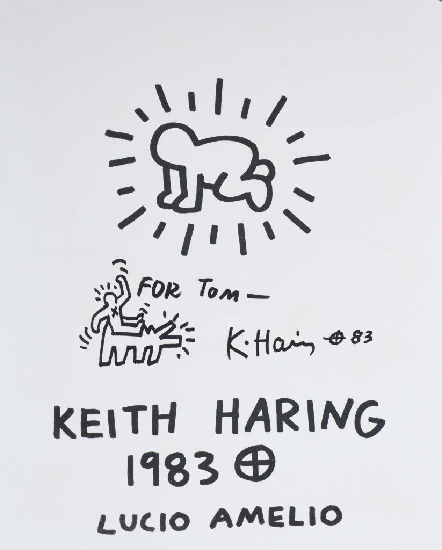 Keith Haring Drawing Ink On Paper