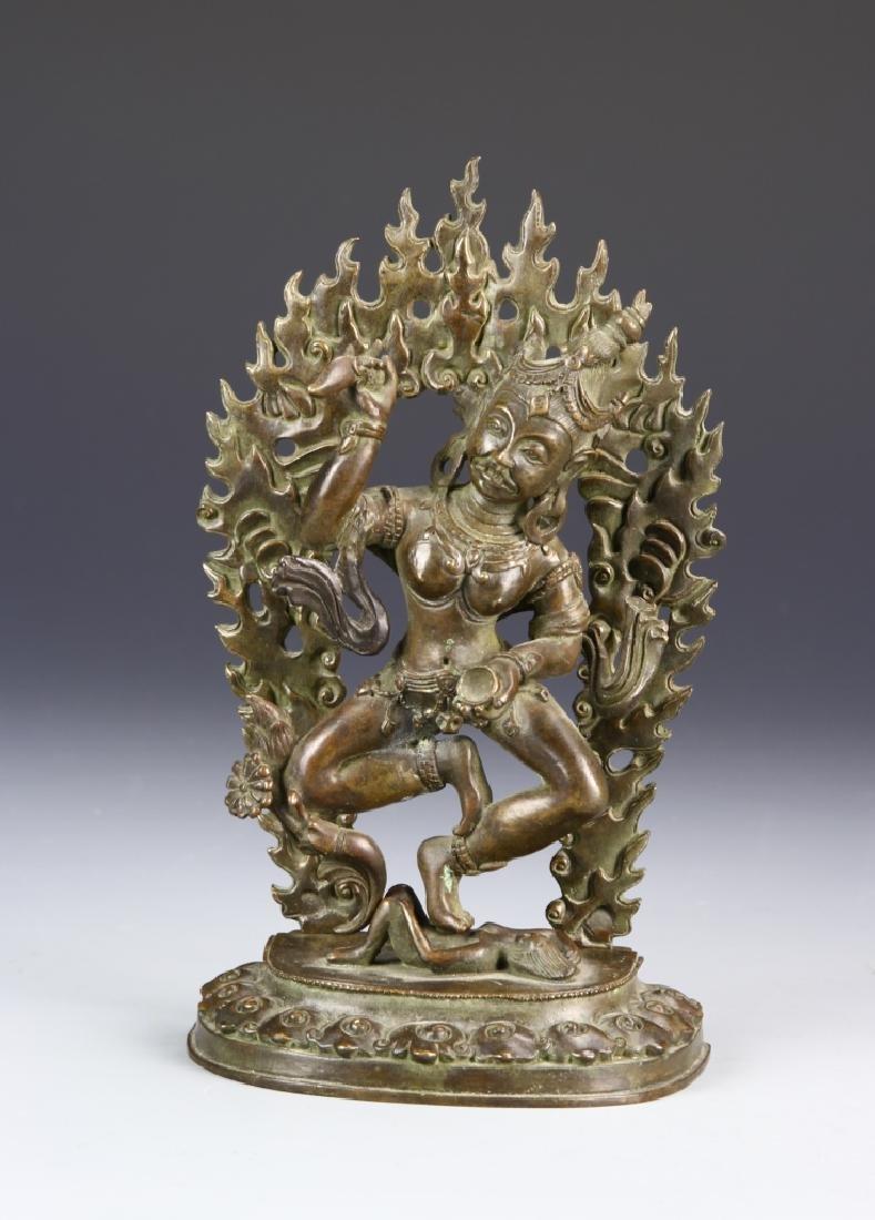 19th Century Bronze Buddha