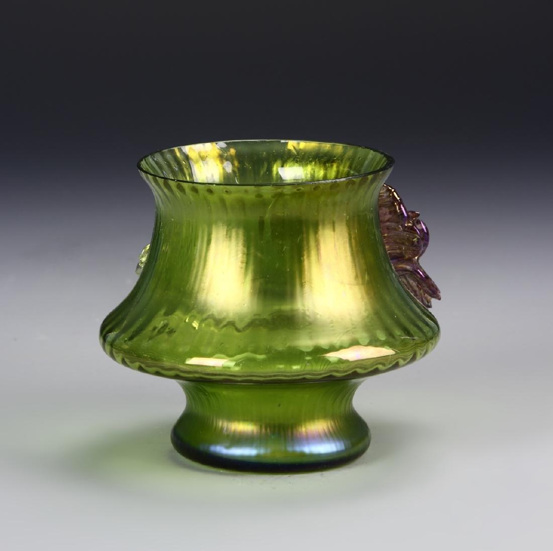 Tiffany Style Glass Jar - 2