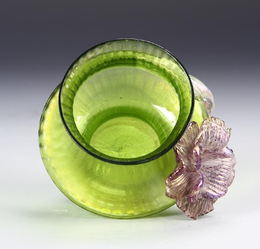 Tiffany Style Glass Jar - 3