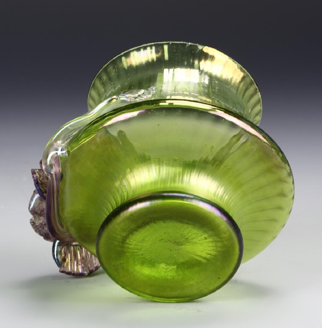 Tiffany Style Glass Jar - 4