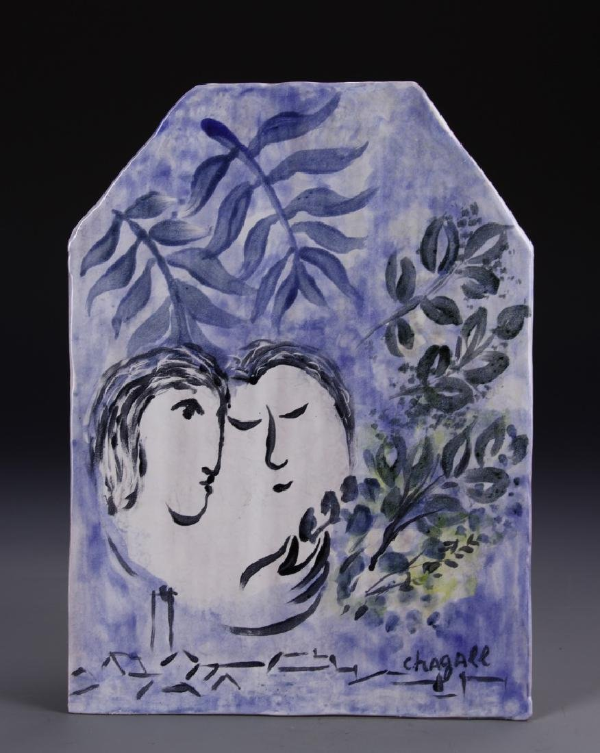 Pottery Plague Chagall