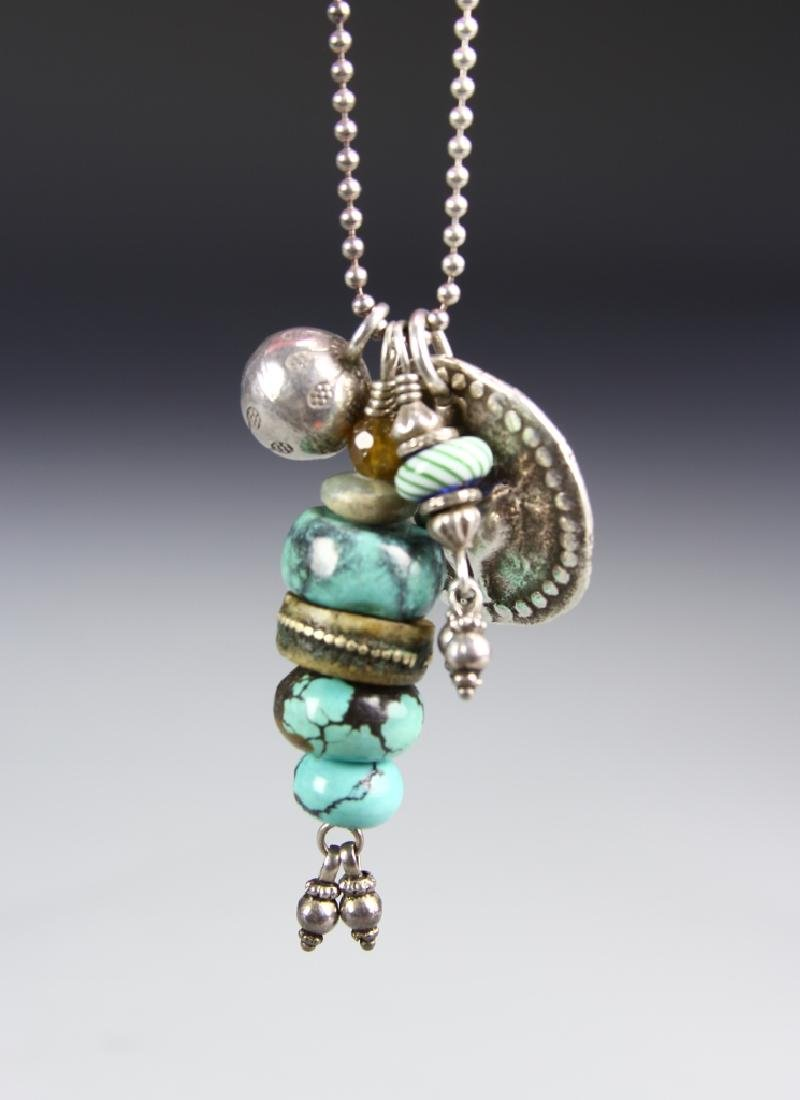 Shannon Kosyk Silver Necklace