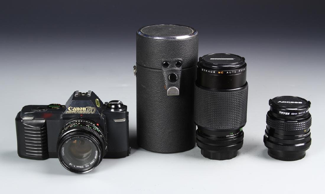 Japanese Canon Camera With Lense