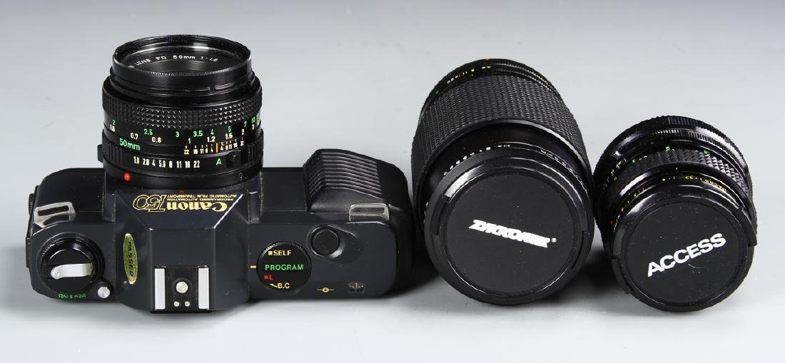 Japanese Canon Camera With Lense - 2