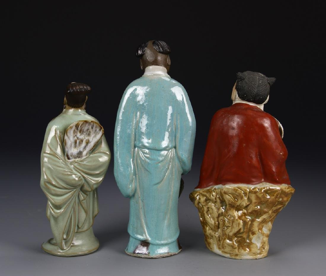 Chinese Three Porcelain Figures - 2