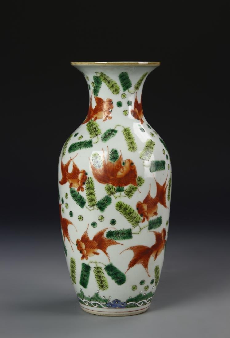55644Chinese Famille Rose Vase
