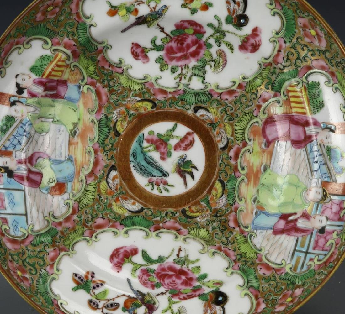 Chinese Rose Medallion Plate - 2