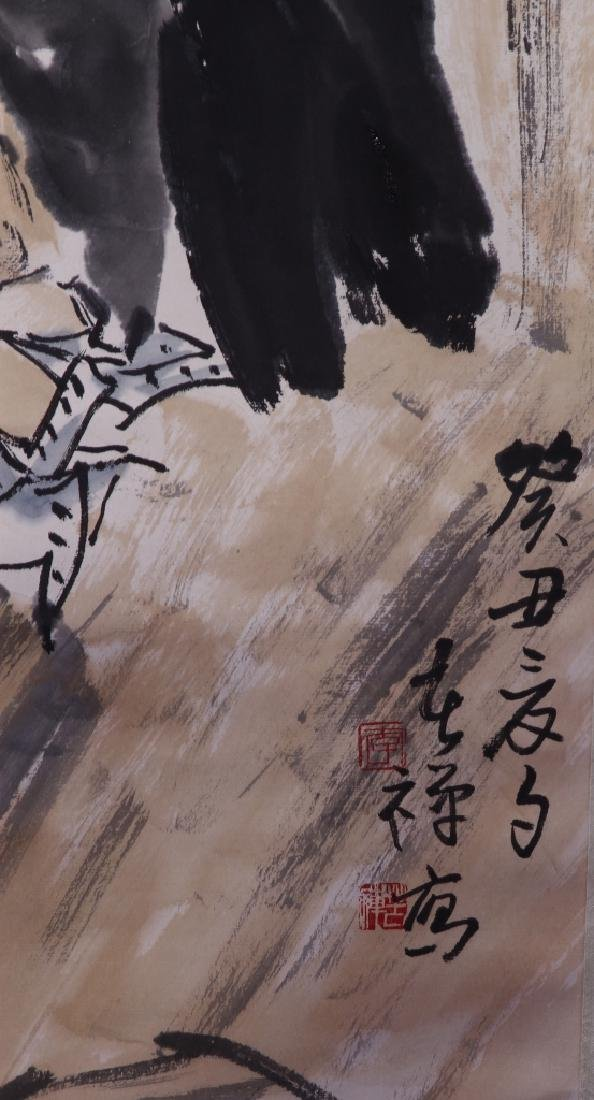 Chinese Scroll Painting of Birds - 3