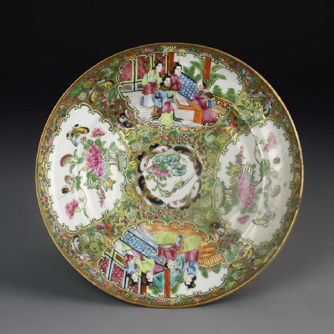 Chinese Rose Medallion Plate