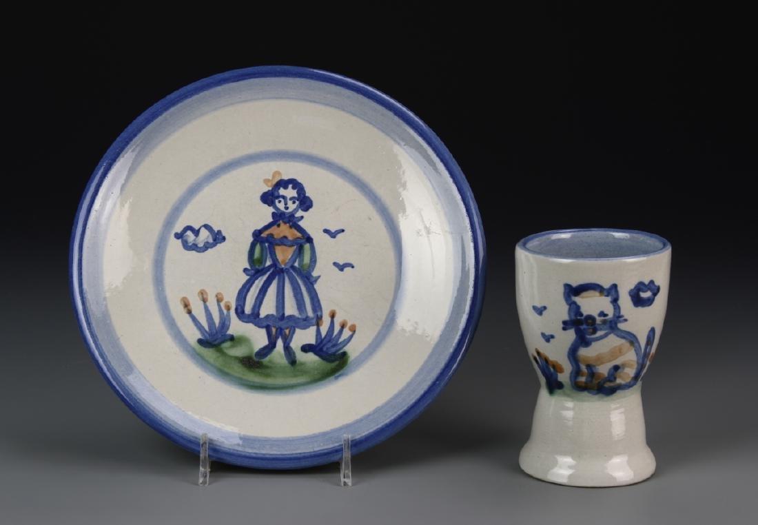 Art Plate And Mug
