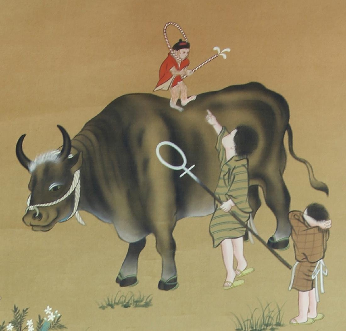 Japanese Scroll Painting - 3