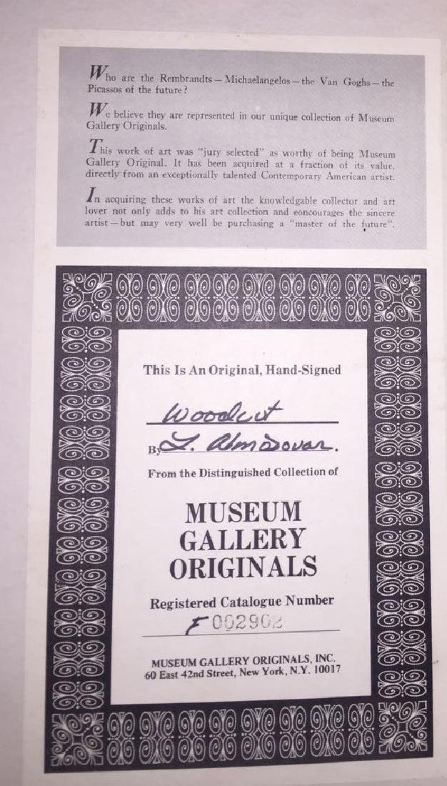 Hand-signed Woodart - 2
